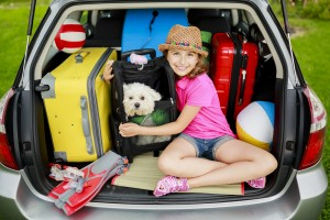 Summer holiday, Travel - family ready for the travel for summer
